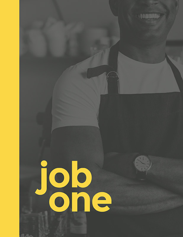 Job One program cover