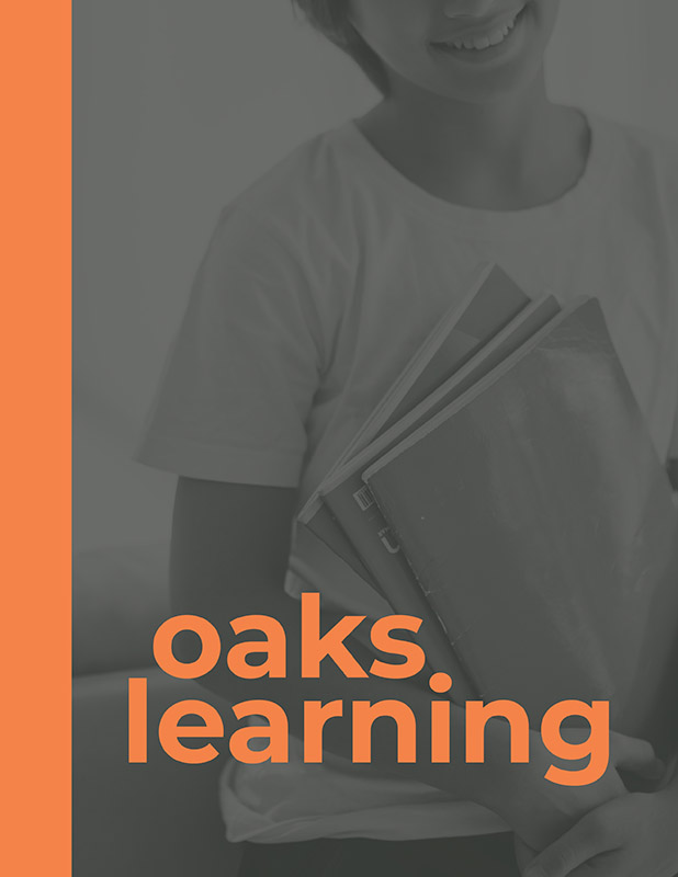Oaks Learning program cover